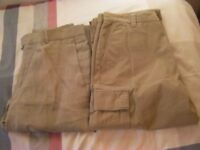 Mens Trousers Waist 32R