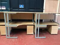 Office Desks 1600mm Left or Right Hand