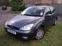 2003 ford focus ghia diesel