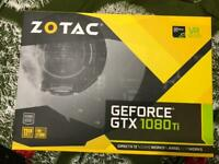 Zotac Blower nVidia GTX 1080 Ti 11GB GDDR5X 3 Years warranty. LIKE NEW.