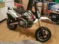 Road legal Demon XLR 125 /160 pit bike Ride On L Plates