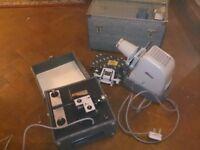 Vintage slide and movie film projectors kodak aldis (swindon)
