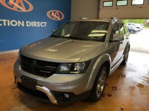 2017 Dodge Journey Crossroad AWD/ HEATED LEATHER/ 7 PASS