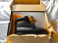 Brand new in the box size 9 CAT industrial working boots