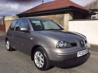 2003 Seat Arosa 1.4 S 3dr Automatic + F.S.H + TIMING BELT + LOW MILES 39K + RARE