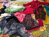Girls clothes 1 years to 5 years good condition.