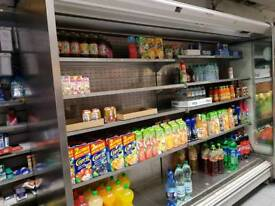 Display fridge for grocery shops