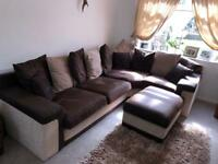 5 seater corner sofa - like new!