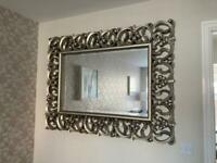 Large Wall Mirror - Champagne Gold