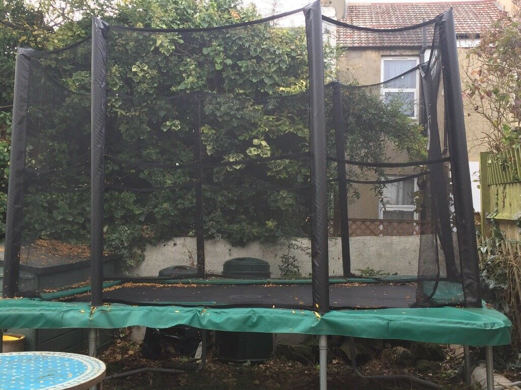 98ddce98a59d Trampoline . Rectangular. Capital Play . 11ft x 8 ft. VGC. 2 years old.  Brighton ...
