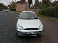 2002 Ford Focus 2.0 i 16v Zetec 5dr Manual @07445775115