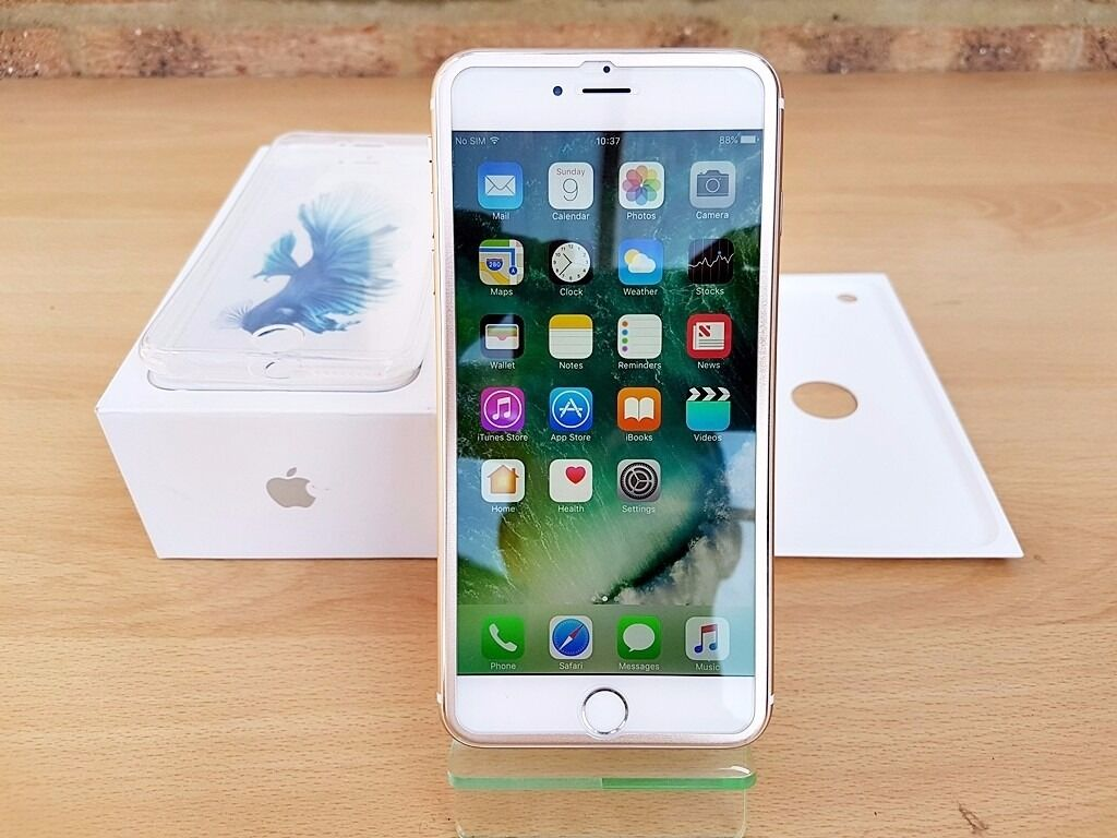 Apple iPhone 6S PLUS 16GB Gold (Unlocked) Smartphone GREATE CONDITION MUST SEEin Slough, BerkshireGumtree - APPLE IPHONE 6S PLUS 16GB GOLD IMEI 353283076258131 Serial number C39QLQ45GRWJ Activated Yes Refurbished by Apple No Telephone Technical Support Expired Repairs and Service Coverage Expired Find My iPhone OFF iCLoud status CLEAN Blacklist status...