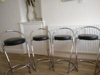 4 x Kitchen stools