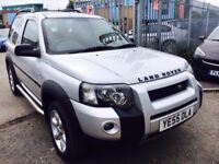 LAND ROVER FREELANDER 2.0 TD4 FREESTYLE HARDBACK DIESEL MANUAL 2005 FULL HISTORY SUN ROOF