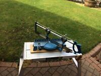 MITRE BOX AND HAND SAW
