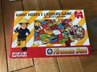 Fireman Sam - Giant Hoses & Ladders Game