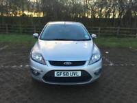 FORD FOCUS 2008 1.6L 5DOOR ZETEC PARKING SENSORS MOT TILL 25/11/2018 HPI CLEAR EXCELLENT CONDITION