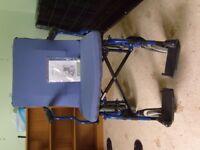 Collapsible, lightweight wheelchair