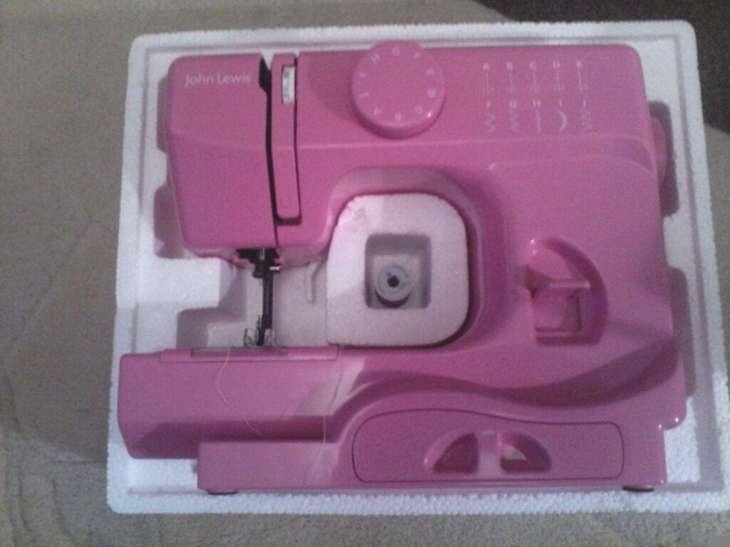 JOHN LEWIS mini sewing machine new.