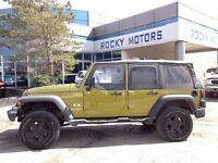 2008 Jeep Wrangler $84.88 A WEEK + TAX OAC - BAD CREDIT APPROVAL