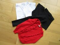 GIRLS AGE 4 PE KIT & UNIFORM ~ ALL NEXT ~ ALL EXCELLENT CONDITION ~ 6 ITEMS ~ £4