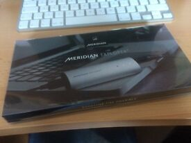 MERIDIAN HIGH QUALITY USB HEADPHONE AMPLIFIER. UNUSED, BRAND NEW IN BOX
