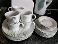 Dinner and tea set