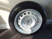 Tyre + wheel 165/65 R14
