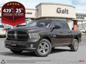 2017 Ram 1500 EXPRESS CREW 4X4 | 5.0TOUH BACK UP CAM HITCH