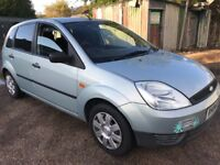 Ford Fiesta Finesse 1242cc Petrol 5 speed manual 5 door hatchback 04 Plate 17/03/2004 Green