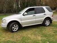 2000 MERCEDES ML 270 CDI AUTO ITS A BEAUTIFUL EXAMPL