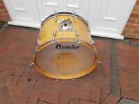 Vintage Premier Bass drum