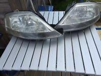Citroen c3 pair of headlights
