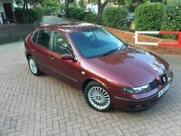 2002 SEAT LEON CUPRA REMAPPED 2 OWNERS FSH EXCELLENT EXAMPLE
