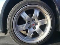 5x112 17 Audi A5 alloy wheels with tyres ET 28