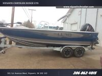 2017 Lund Boat Co Tyee 2075