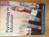 Psychology in Education Book