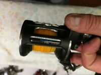 PENN 525 hi speed multiplyer fishing reel in good condition