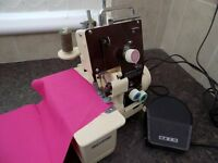 RICCAR LOCK , MODEL RL-230 OVERLOCK SEWING MACHINE