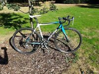 Forme Calver CXS 2014 Cyclocross Road Bike & Lezyne Hecto Drive 300XL with Strip Drive Light Set