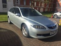 MAZDA 6 DIESEL ESTATE MOT FOR A FULL YEAR WITH FULL MOT HISTORY DRIVES GREAT