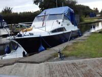 Invader Motor Cruiser Boat - 4 Berth