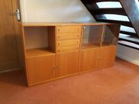 Ikea Lounge display cabinets