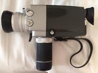 movie camera (vintage)