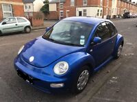 2001 VW Beetle, good condition, drives well,MOT until Dec 2017, offers welcome!