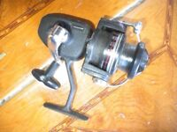 A SPINFISHER 666 FISHING REEL