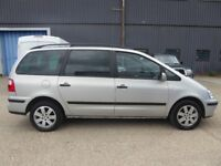 FORD GALAXY 1.9 TDI 7 SEATER SILVER ONLY 120000K MANUAL CAMBELT DONE