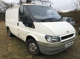 04 FORD TRANSIT 2.0 260 100 BHP ONE FAMILY OWNER LOW 94K MINT CABIN MOT JAN 2018 A1 DRIVE PX SWAPS