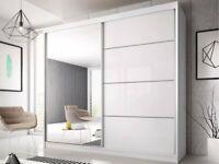 Brand New Modern Design Moscow Sliding Wardrobe Mirrored Wardrobe