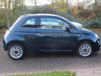 FIAT 500 1.2 MULTIJET LOUNGE 3d 95 BHP 1 OWNER FROM NEW, MOT JULY 18